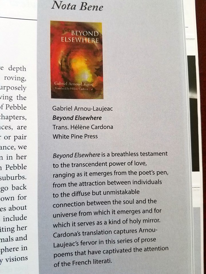 From The Current May June Issue Of WORLD LITERATURE TODAY