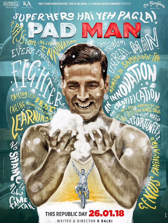 Pad Man, Lelaki Pendobrak Tabu dalam Dunia Perempuan