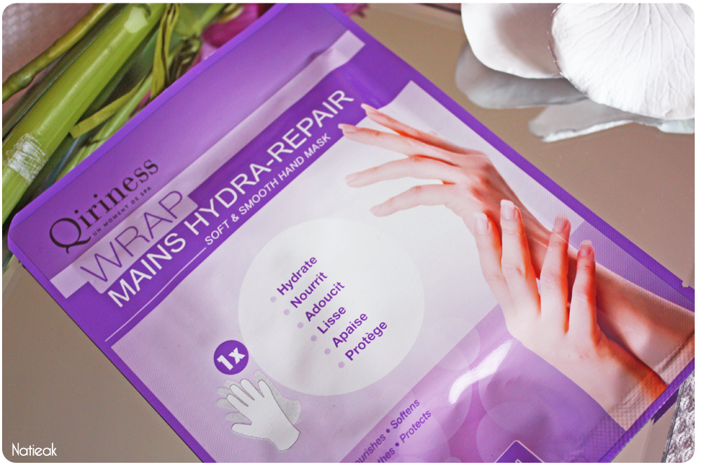 Masque Wrap Hydra-repair mains   de Qiriness