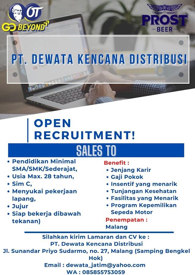 Loker Malang Terbaru Sales PT. Dewata Kencana Distribusi