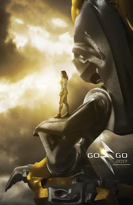 POWER RANGERS Zord Teaser Poster, Yellow Ranger