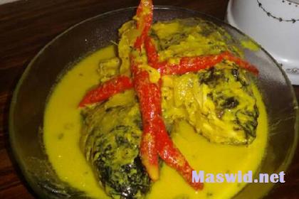 Resep Ikan Bumbu Kuning Padang Dan Kemangi Yang Super Lezat