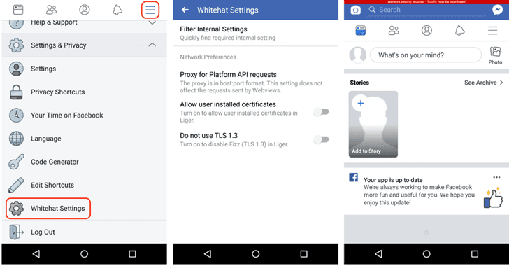 facebook whitehat setting hackers