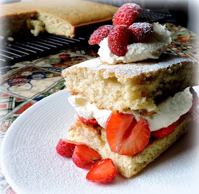 Lighter Strawberry Shortcake