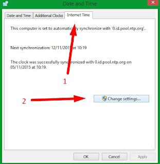 Mengubah Pengaturan Waktu yang Bermasalah pada Windows