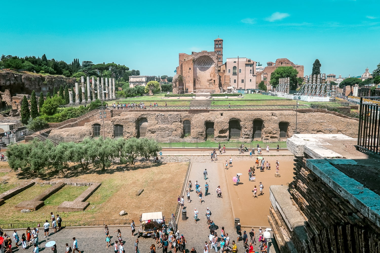 The Roman Forum, Rome Italy, Things to do in Rome Italy