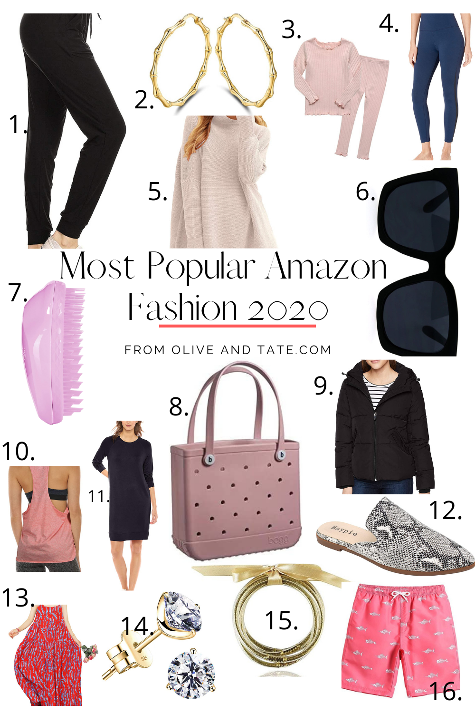 Amazon Fashion Most Popular 2020