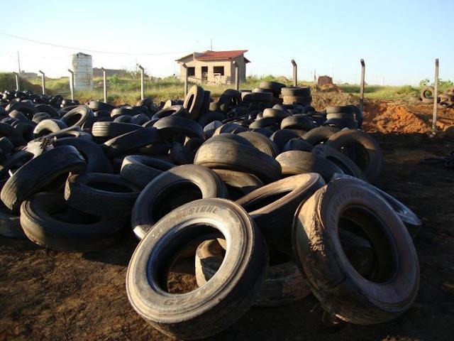 SP promove força-tarefa para coleta de pneus em 310 municípios