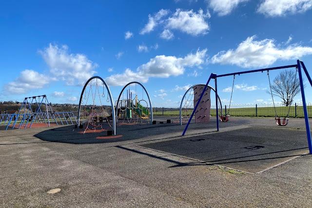 Colebrook Lane Playground on Jessel Green Debden Loughton