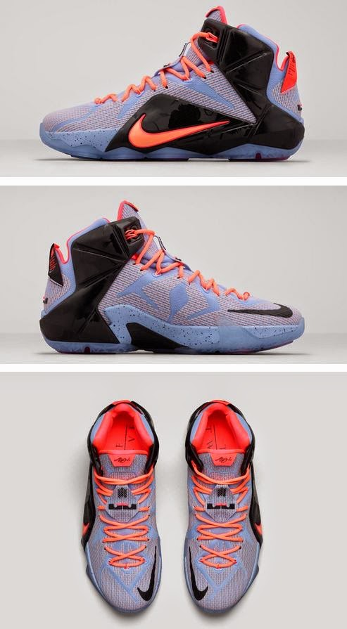 best website 46339 7f62a THE SNEAKER ADDICT: Nike Lebron 12 Easter Sneaker (Release ...