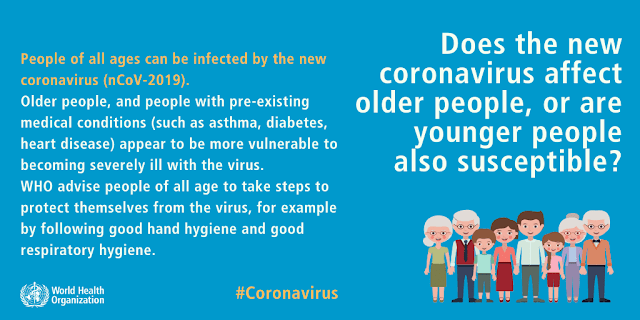 Coronavirus (COVID-19) Myth Busters - WHO Advice for Public - Iftikhar University