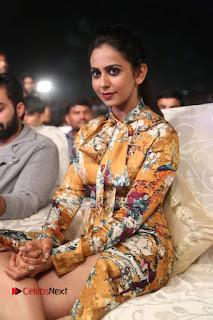Actress Rakul Preet Singh Stills in Short Dress at Dhruva Pre Release Function  0071.JPG