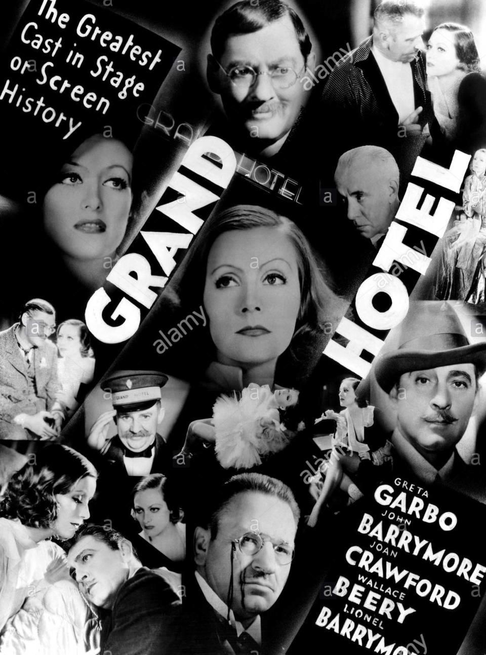 Caffe Noir Nothing Ever Happens Grand Hotel 1932