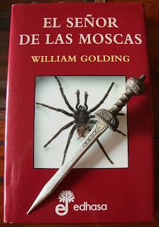 Portada del libro El señor de las moscas, de William Golding