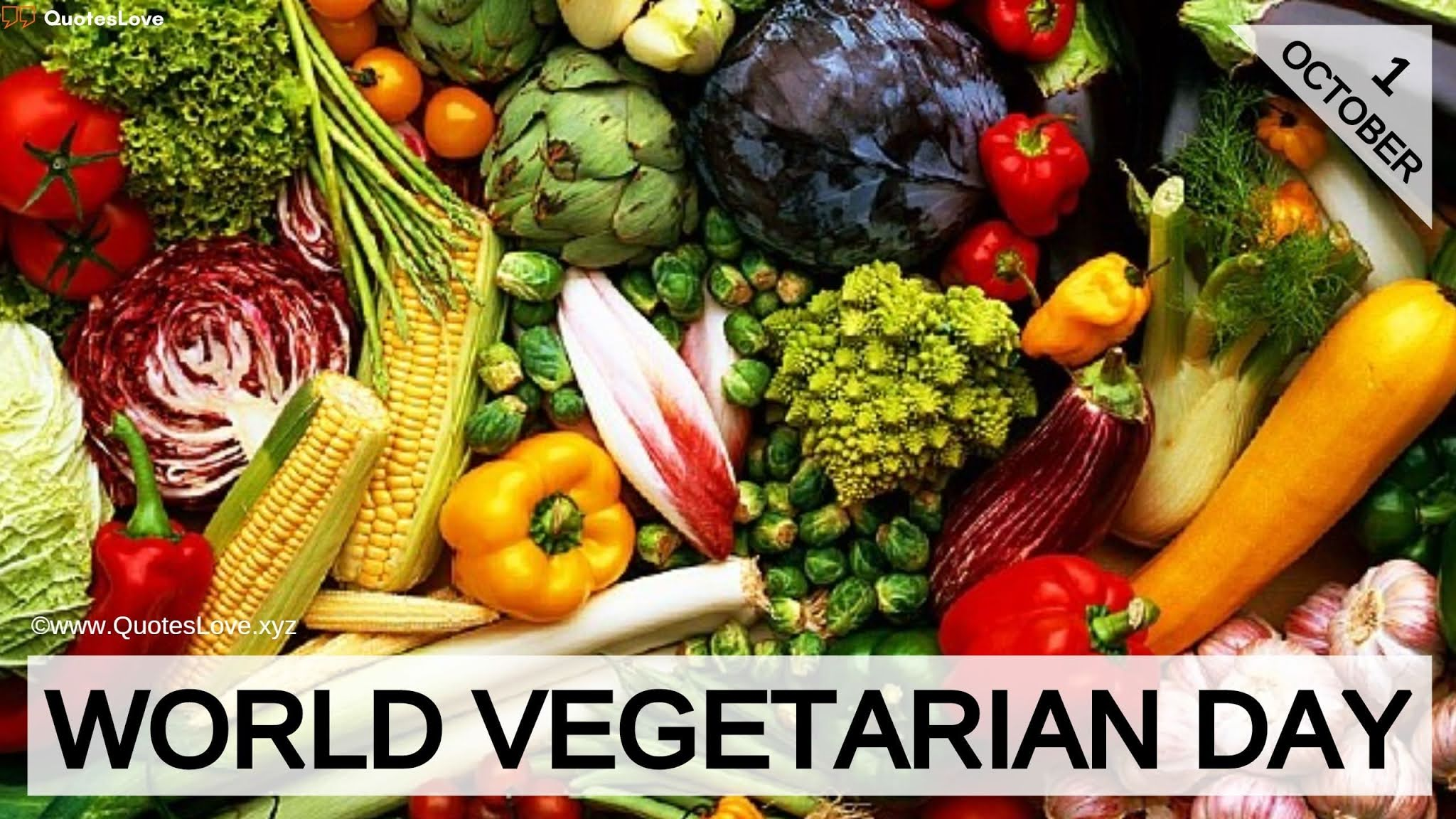 World Vegetarian Day Quotes, Sayings, Wishes, Images, Pictures, Poster, Photos