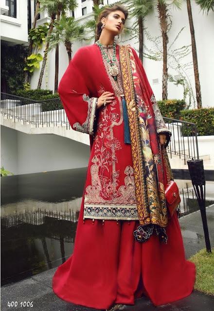 Deepsy Elean Silk Japan Satin Embroidered pakistani Suits wholesaler