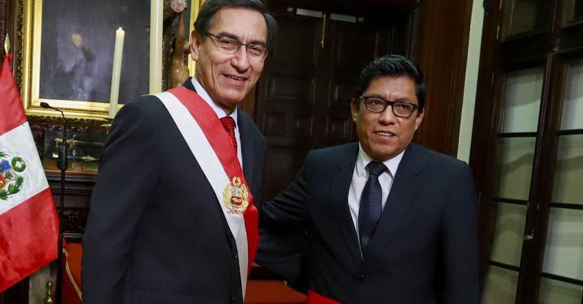 Varios ministros serán ratificados en nuevo gabinete, informó el presidente del Consejo de Ministros, Vicente Zeballos