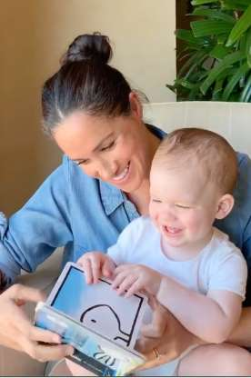 Archie's first birthday: Harry and Meghan release adorable video of their son as she reads story to him for Save The Children campaign
