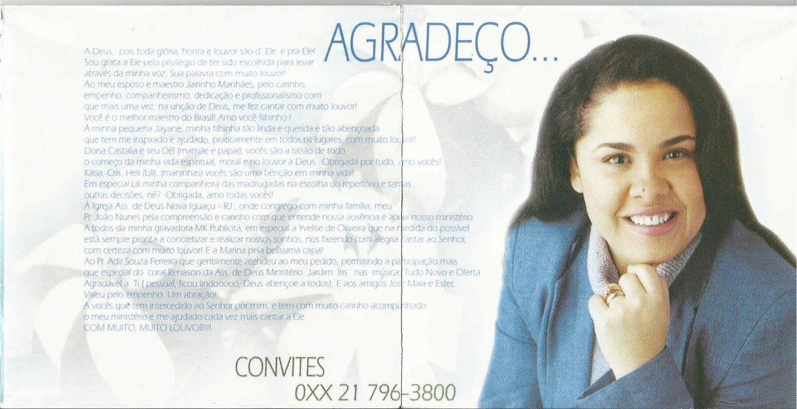 cd cassiane com muito louvor 1999