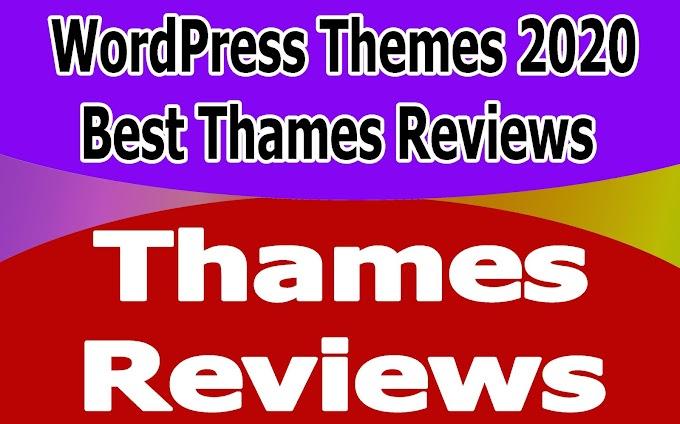 10+ WordPress Themes 2020 Best Thames Reviews