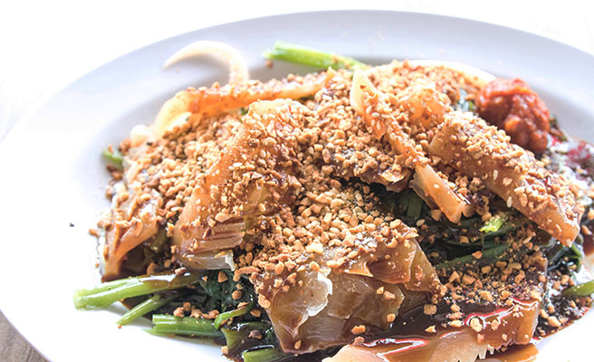 Penang Cuttlefish Kangkong