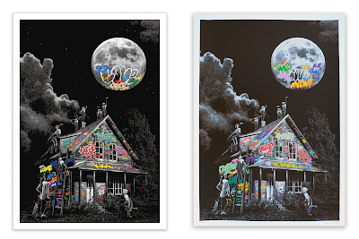 Moon Child Screen Print by Roamcouch x Bottleneck Gallery