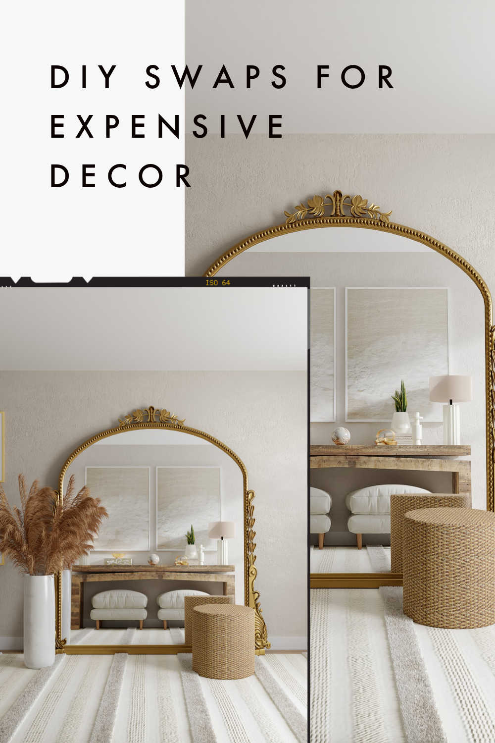 DIY SWAPS FOR EXPENSIVE DECOR