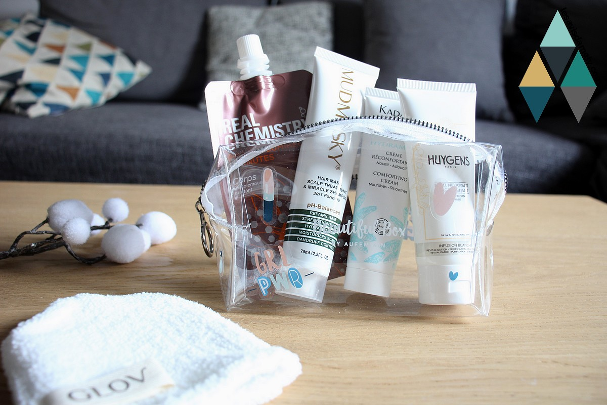 avis et test beautiful box beauté mars gym glow