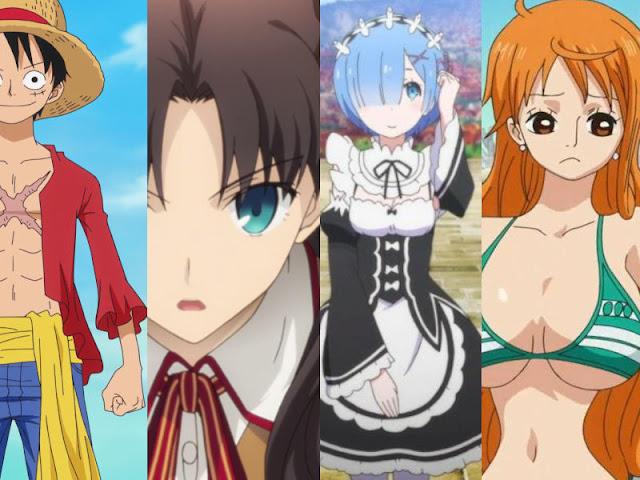 différents types de personnages