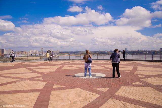 Смотровая площадка на ЗАГСе Казань