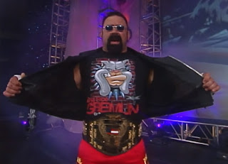 WCW Greed 2001 - Rick Steiner defended the US title against Booker T