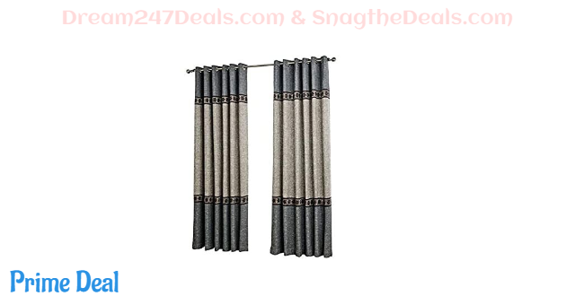 Dreaming Casa White Blackout Curtains 60%OFF