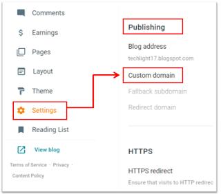 ब्लॉगर में Domain Name Add करें आसानी से