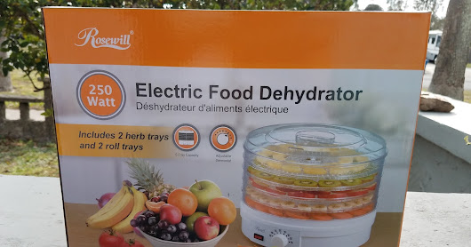 Eat Healthy This Spring with an Electric Food Dehydrator from Rosewill! + Giveaway