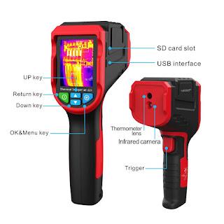 Infrared Thermal Imager Noyafa NF-521 NF521 Camera Heating Detector Temperatur 2MP Kamera Deteksi Panas