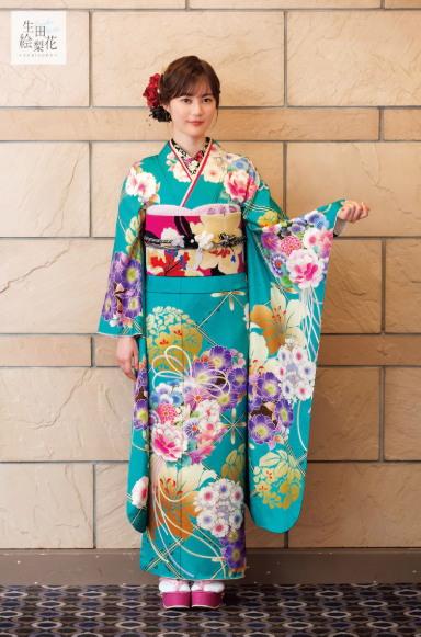 Nogizaka46 Erika Ikuta Menjadi Model Produk Furisode