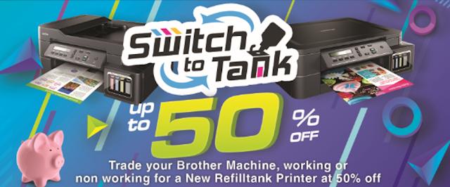 Brother Refill Tank System Printer