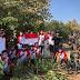 Satgas Pamtas Yonif 742/SWY Kibarkan Bendera di Sepanjang Patok Perbatasan RI – RDTL