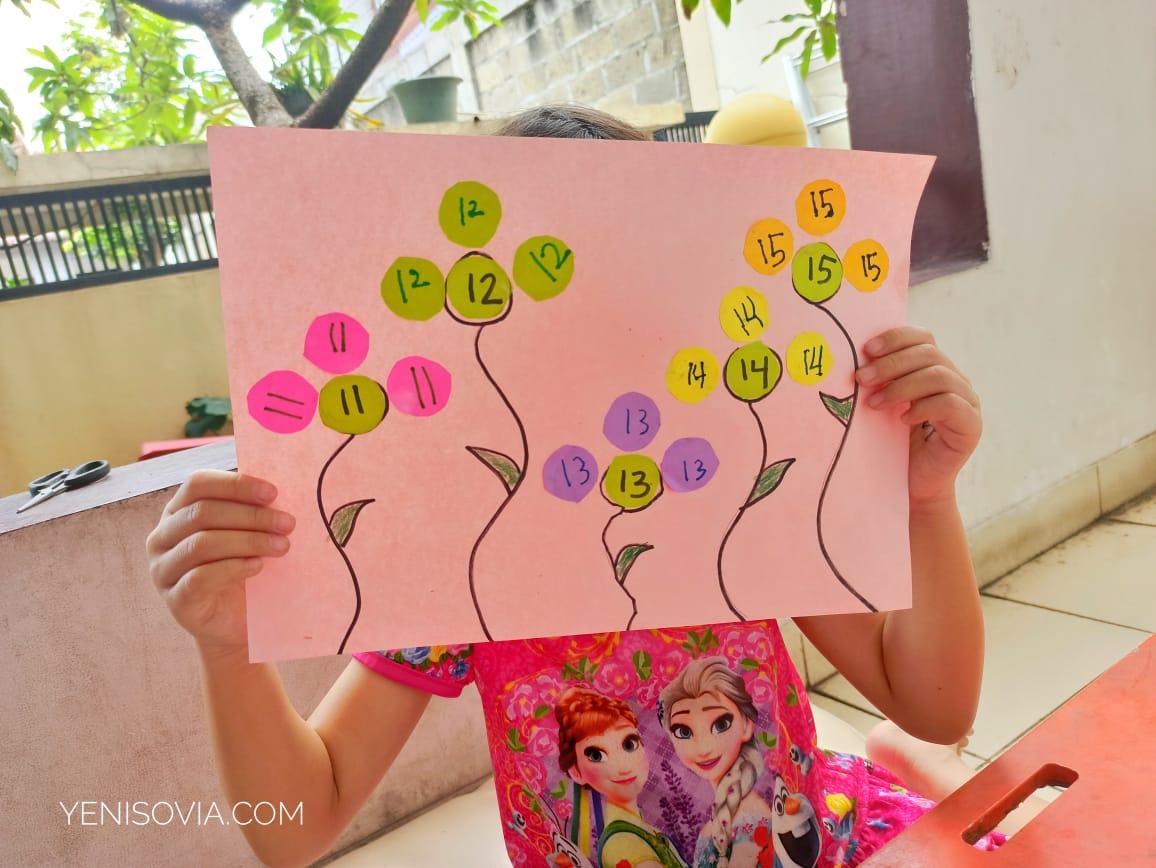 kegiatan belajar angka untuk anak
