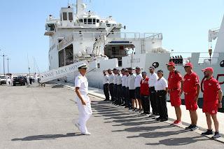 Visita del Comandante Generale CP al Compartimento marittimo di Salerno
