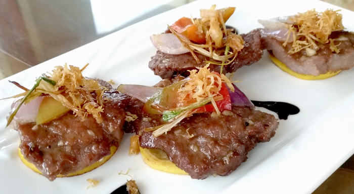 Stir-Fried Beef Tenderloin with Lemon and Black Pepper