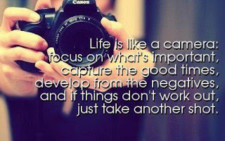 Life is like a camera    Quotes About Cameras