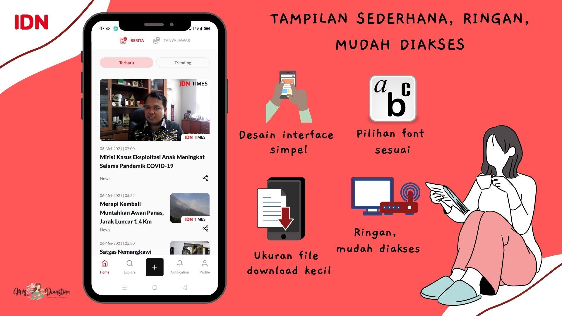 Keunggulan IDN App