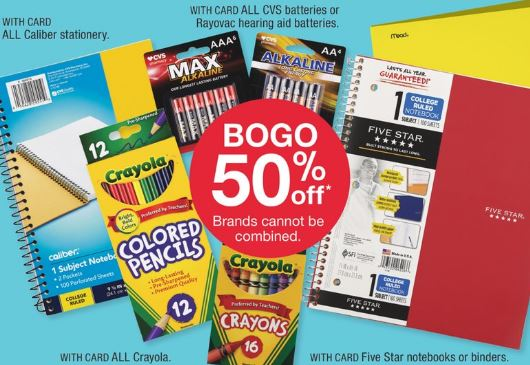 CVS Back to School Coupon Deals - 8/18-8/24