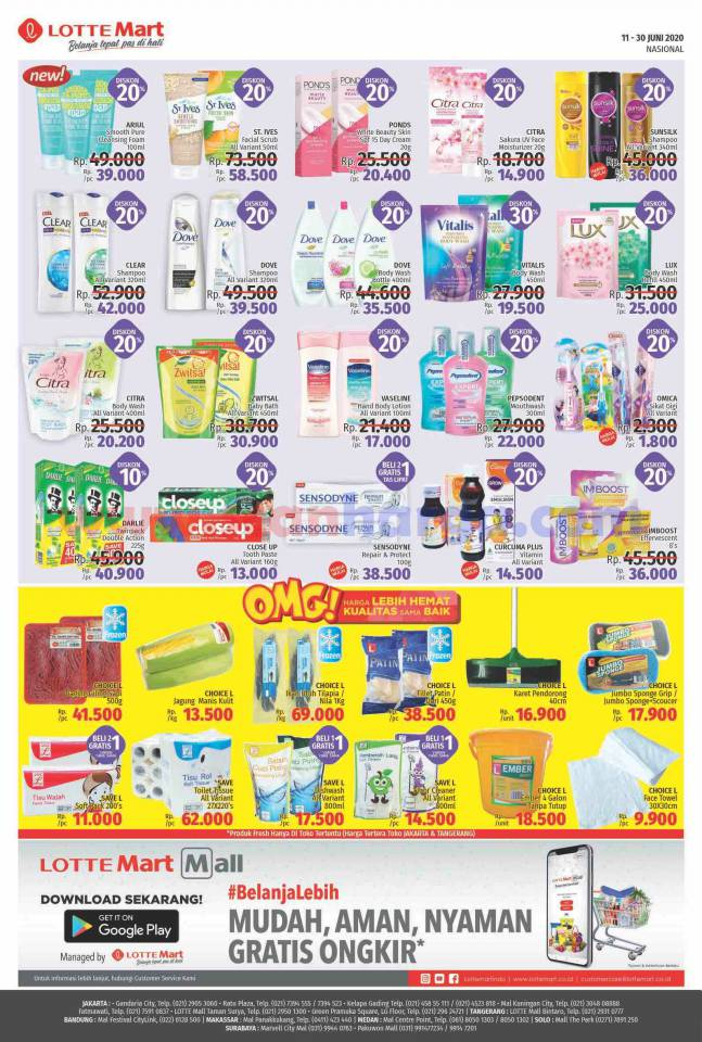 Katalog Lottemart Promo Terbaru 11 - 30 Juni 2020