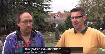 Peter Jones & Richard Gottfried at the American Golf National Adventure Golf Championship