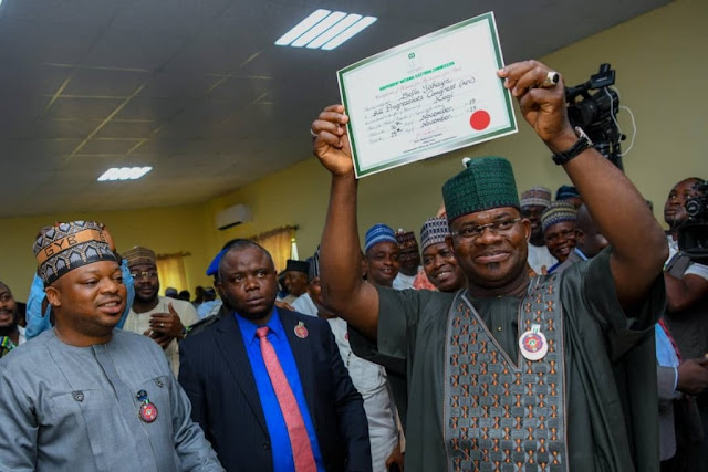 'My Victory Has Buried Politics Of Ethnicity In Kogi' - Yahaya Bello