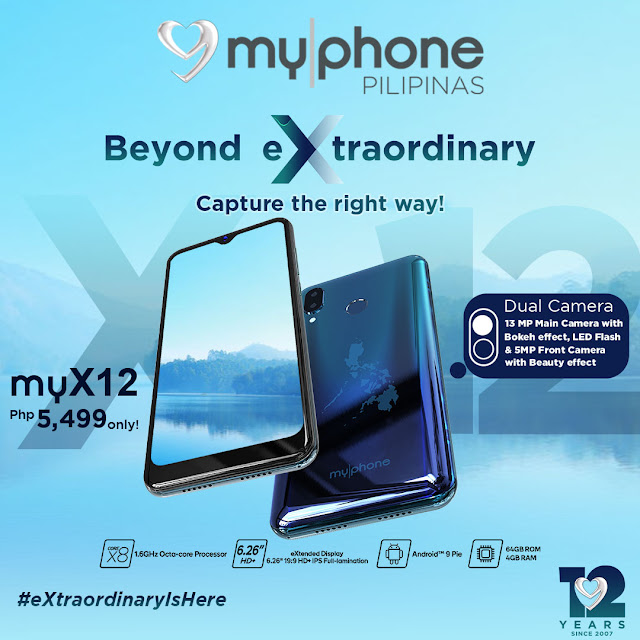 MyPhone myX12 with Dual Camera