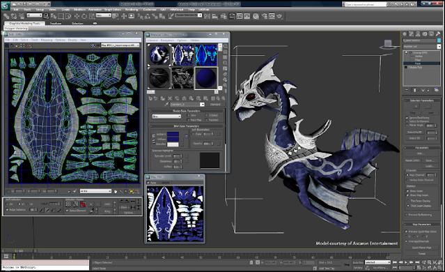 Proses pembuatan 3D