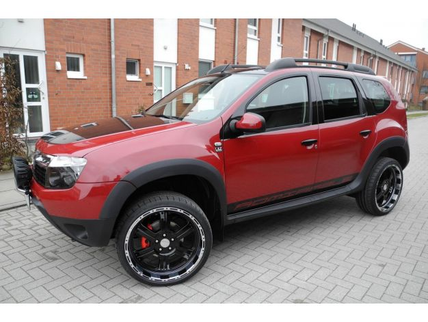 dacia duster aggressive tuning about cars. Black Bedroom Furniture Sets. Home Design Ideas